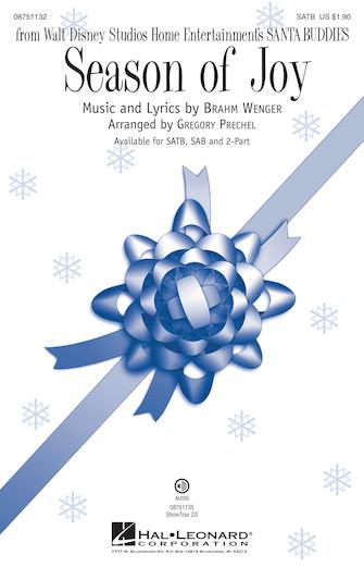 Season of Joy : SATB : Gregory Prechel : Sheet Music : 08751132 : 884088476502