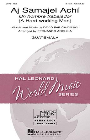 : 2-Part : Fernando Archila : Sheet Music : 08751152 : 884088477905