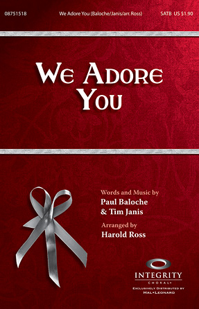 Product Cover for We Adore You
