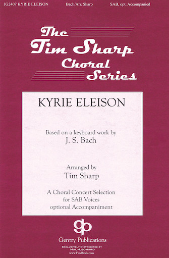Kyrie Eleison : SAB : Tim Sharp : Sheet Music : 08751550 : 884088396817