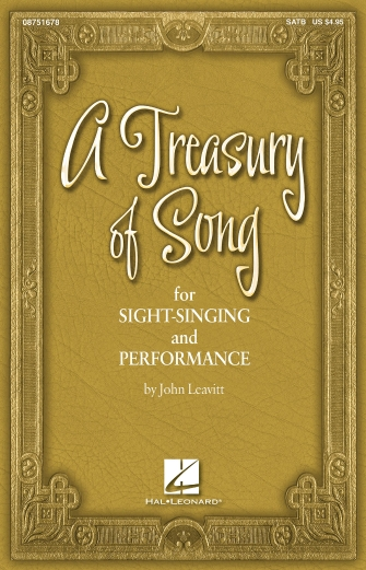 Product Cover for A Treasury of Song for Sight-Singing and Performance