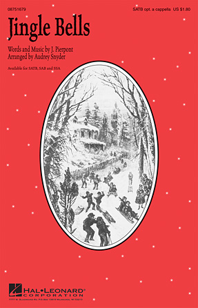 Jingle Bells : TB : Audrey Snyder : James Pierpont : Sheet Music : 00124240 : 884088965440