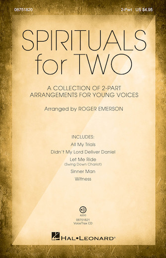 Product Cover for Spirituals for Two