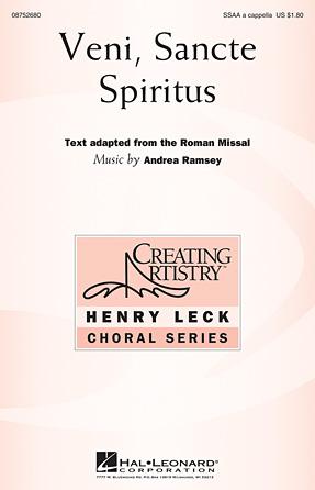 Veni Sancte Spiritus : SSAA : Andrea Ramsey : Andrea Ramsey : Sheet Music : 08752680 : 884088547875