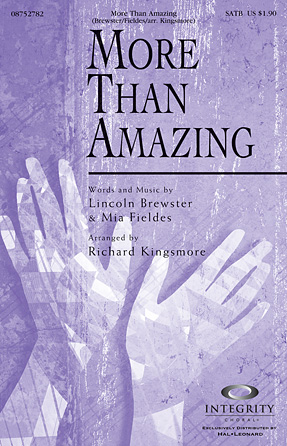 Product Cover for More Than Amazing