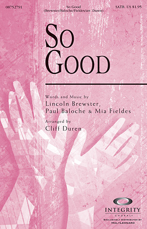 Product Cover for So Good