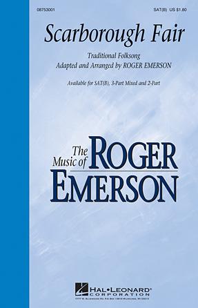 Scarborough Fair : SATB : Roger Emerson : Sheet Music : 08753001 : 884088559106