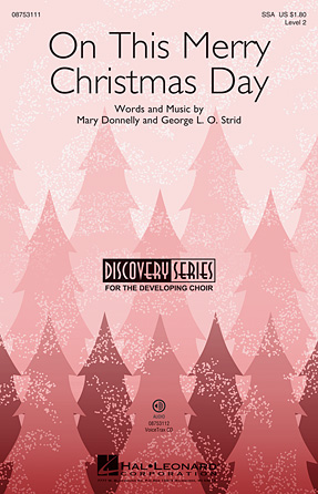 Product Cover for On This Merry Christmas Day