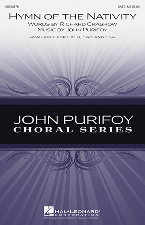 Hymn of the Nativity : SSA : John Purifoy : John Purifoy : Sheet Music : 08753178 : 884088567255