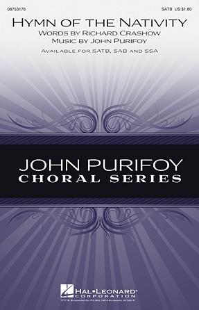 Hymn of the Nativity : SATB : John Purifoy : John Purifoy : Sheet Music : 08753176 : 884088567231