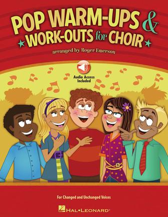 Product Cover for Pop Warm-ups & Work-outs for Choir