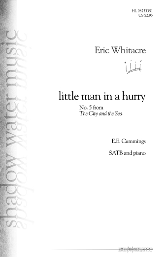 Product Cover for Little Man in a Hurry