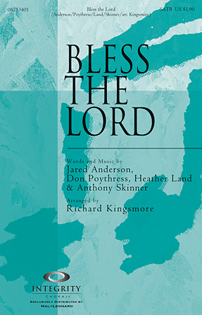 Product Cover for Bless the Lord