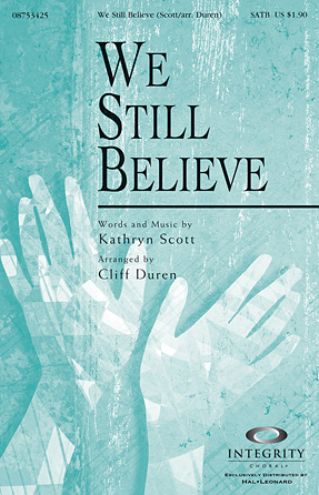 Product Cover for We Still Believe