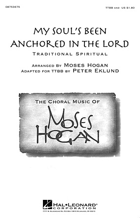 My Soul's Been Anchored in the Lord : TTBB : Peter Eklund : Sheet Music : 08753675
