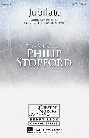 Jubilate : SATB : Philip Stopford : Philip Stopford : Sheet Music : 08754144 : 884088628734
