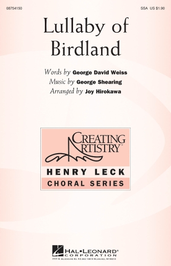 Product Cover for Lullaby of Birdland
