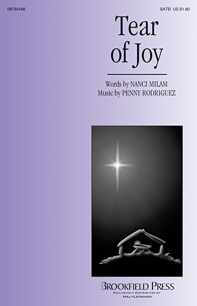 Tear of Joy : SATB : Penny Rodriguez : Penny Rodriguez : Sheet Music : 08754166 : 884088629328