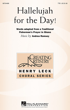 Hallelujah for the Day! : TTB : Andrea Ramsey : Andrea Ramsey : Sheet Music : 08754488 : 884088643300
