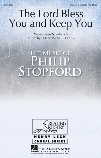 The Lord Bless You and Keep You : SSATB : Philip Stopford : Philip Stopford :  1 CD : 08754490 : 884088643379