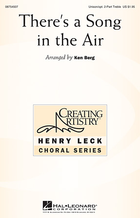 Product Cover for There's a Song in the Air