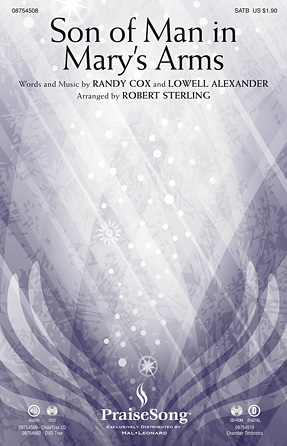 Son of Man in Mary's Arms : SATB : Robert Sterling : Randy Cox : Sheet Music : 08754508 : 884088643690
