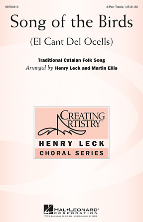 Song of the Birds : SSA : Martin Ellis : Sheet Music : 08754513 : 884088643782