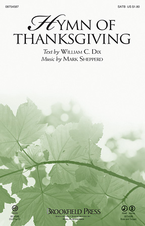 Product Cover for Hymn of Thanksgiving