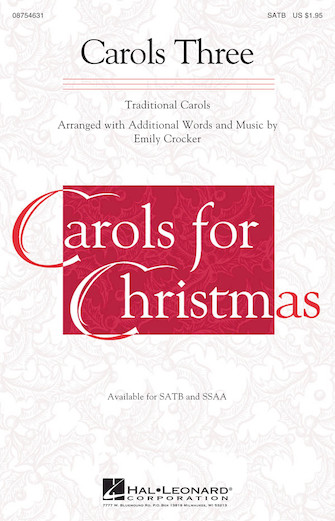 Product Cover for Carols Three