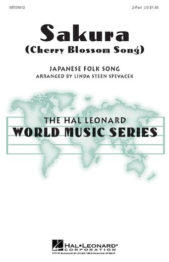 Sakura : 2-Part : Linda Spevacek : Sheet Music : 08756912 : 073999569124