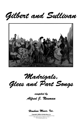 Product Cover for Gilbert and Sullivan – Madrigals, Glees and Part Songs