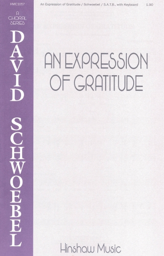 Product Cover for An Expression of Gratitude