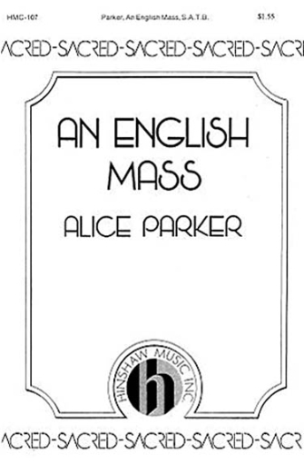 Product Cover for An English Mass