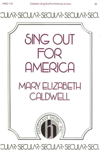 Product Cover for Sing Out for America