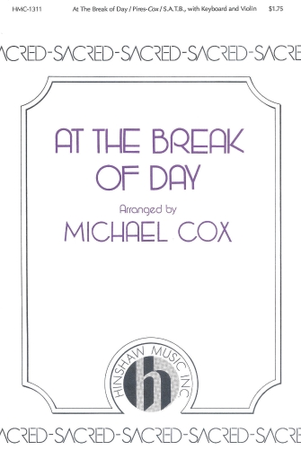 Product Cover for At the Break of Day (Logo de Manha)