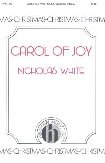 Carol of Joy : SATB : 08763628 : Sheet Music : 08763628 : 728215023934