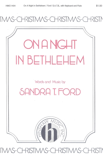 Product Cover for On a Night in Bethlehem