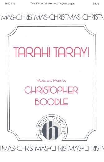 Tarah! Taray : SATB : Christopher Boodle : Sheet Music : 08763704 : 728215025372