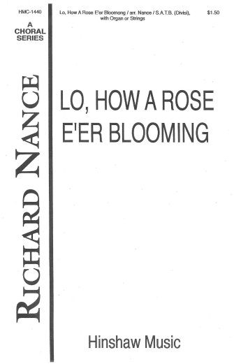 Product Cover for Lo, How A Rose E'er Blooming
