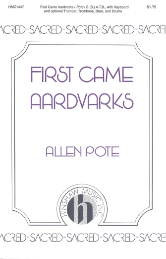 Product Cover for First Came Aardvarks