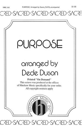 Product Cover for Purpose