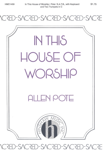 Product Cover for In This House of Worship