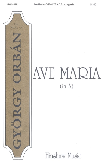 Product Cover for Ave Maria (in A)
