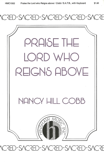 Product Cover for Praise the Lord Who Reigns Above