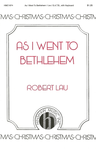 Product Cover for As I Went To Bethlehem