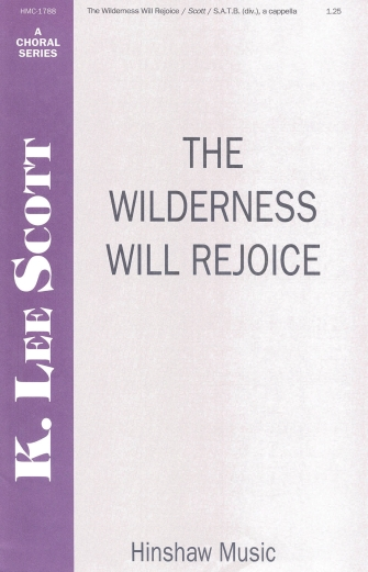 Product Cover for The Wilderness Will Rejoice
