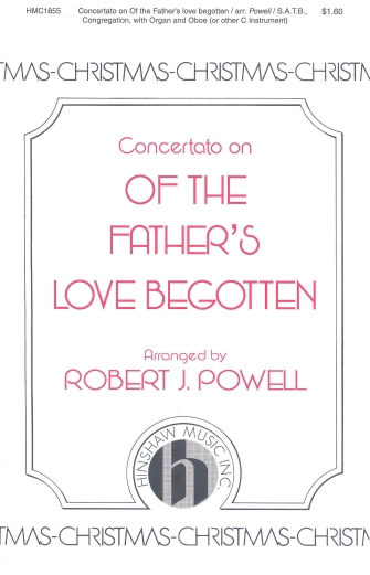 Product Cover for Concertato on Of the Father's Love Begotten