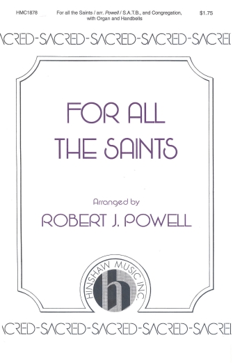 Product Cover for For All the Saints