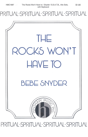 Product Cover for The Rocks Won't Have To