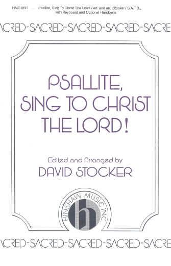 Product Cover for Psallite, Sing to Christ the Lord